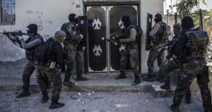 PKKnın hücre evine baskın! İçeriden sağ terörist çıkmadı