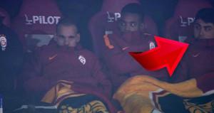Şaşkına çevirdi: Ozan Tufan, Galatasaray kulübesinde