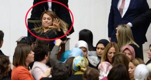 Kadın vekiller, Mecliste saç saça birbirlerine girdiler
