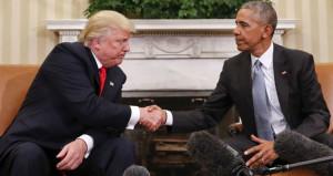 Obama giderayak Trumpın kucağına bombayı bıraktı