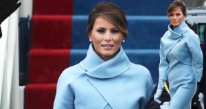 First Ladynin elbisesindeki ilginç detay!