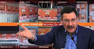 Ankaradaki korsan afişler Gökçeki kızdırdı