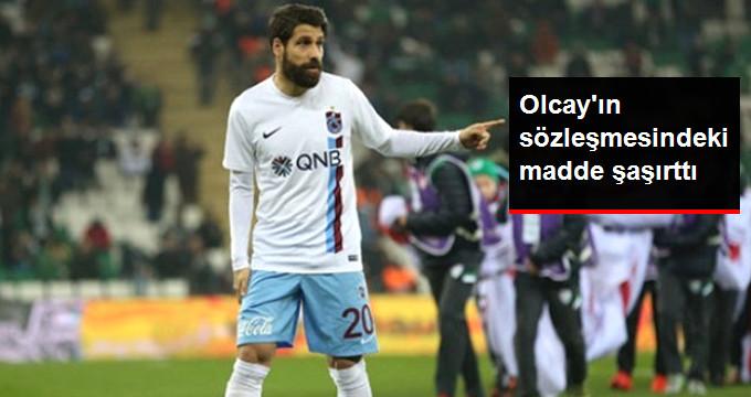 Trabzonspor, Olcay Şahan a 500 Bin Euro İmza Parası Vermiş