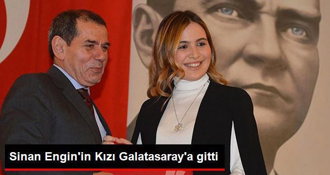 Sinan Engin in Kızı Elif Engin, Galatasaray Kongre Üyesi Oldu