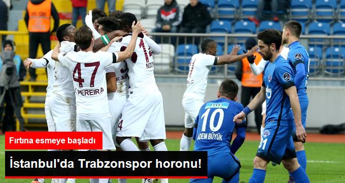 Süper Lig de Trabzonspor Deplasmanda Kasımpaşa yı 1-0 Yendi