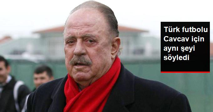 Türk Futbolu İlhan Cavcav İçin Taziye Mesajları Yolladı