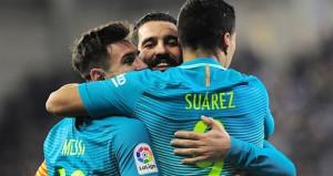 Ardalı Barça ezdi geçti