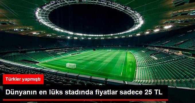 Avrupa nın En Lüks Stadı  Krasnodar Arena da Maç İzlemek Sadece 25 TL