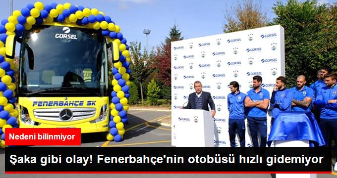 Fenerbahçe Otobüsünün Hız Sınırı 140 Kilometreden 100 Kilometreye İndi