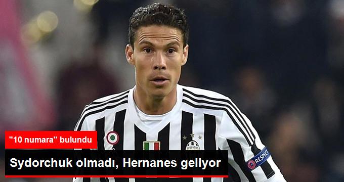 Fenerbahçe Sydorchuk tan Vazgeçti, Hernanes i Bitirmek Üzere