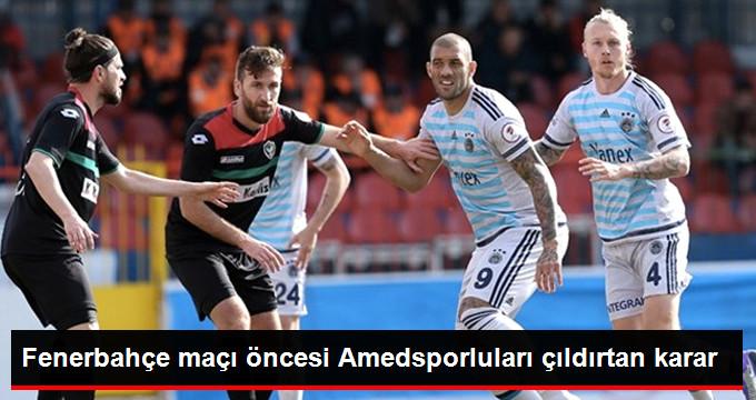 Fenerbahçe Maçına Amedsporlu Taraftarlar Alınmayacak