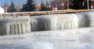 Türkiyenin buz kenti! Sabah uyandıklarında her şey donmuştu