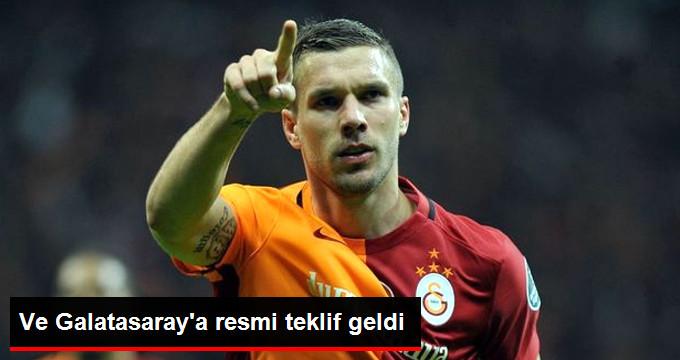 Galatasaray, Podolski İçin Yapılan Teklifi Reddetti