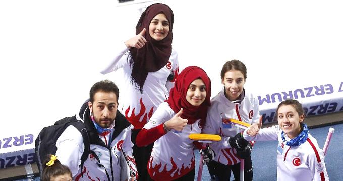 Curling'de gururlandık! Gençlerden madalya geldi