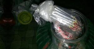 PKK'nın cephaneliği turşu şişesinde bulundu!
