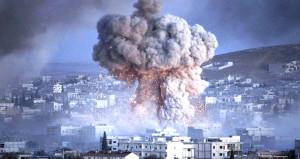 Esad rejimi Şama bu kez 'fillerle' saldırdı