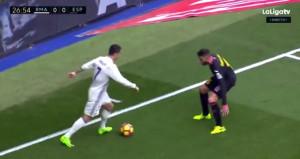 Ronaldo tek hareketle futboldan soğuttu