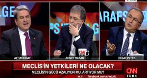 AK Parti ve CHP'li vekiller arasında