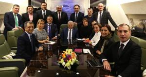 Başbakan, MHPli bakan iddialarına yanıt verdi, CHPye kucak açtı