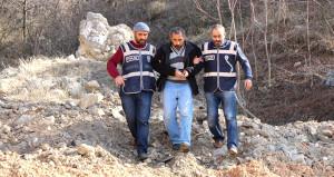 Ormana gizlenen polisler yakalayınca gerçeği itiraf etti