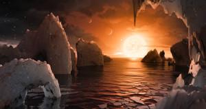Dünya boyutlarında, 'yaşanılabilir' 7 gezegen bulundu