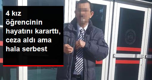 Öğrencilerine Tacizle Suçlanan Öğretmen 26,5 Yıl Hapis Aldı Ama Serbest