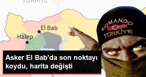 TSK El Bab İlçe Merkezini Ele Geçirdi