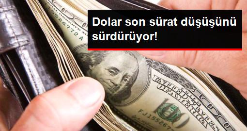 Dolar 3,57 TL Seviyesine Geriledi
