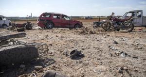 El Bab yakınlarında bombalı saldırı! Kadınlar ve çocuklar can verdi