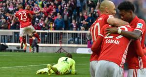 Bayern Münih insanlıktan çıktı: 8-0