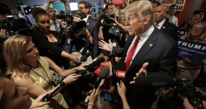 En büyük medya kuruluşlarını Beyaz Saraydan kovdu