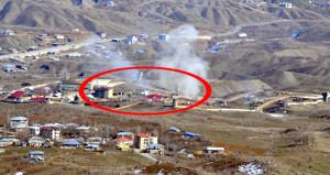 Kuzey Irak'taki PKK'lılara bomba yağdı