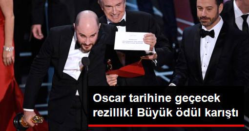 Oscarda Büyük Skandal! En İyi Film Ödülü Yanlış Açıklandı