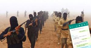 DEAŞ'lı teröristlerin whatsapp konuşmaları ortaya çıktı