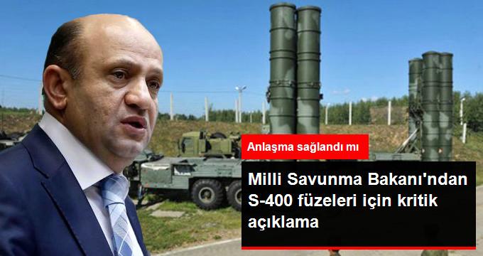 Milli Savunma Bakanı Işık: S-400 Füzelerinde Henüz İmza Aşamasında Değiliz