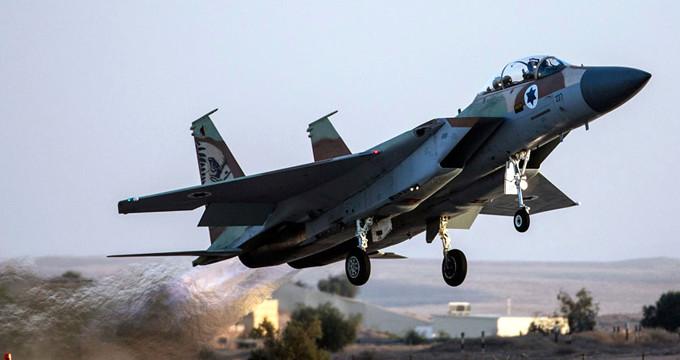 İsrail savaş uçağı düşürüldü