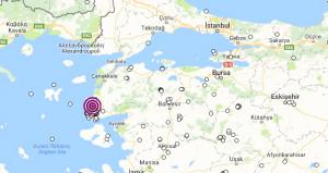 Çanakkale Ayvacıkta korkutan deprem