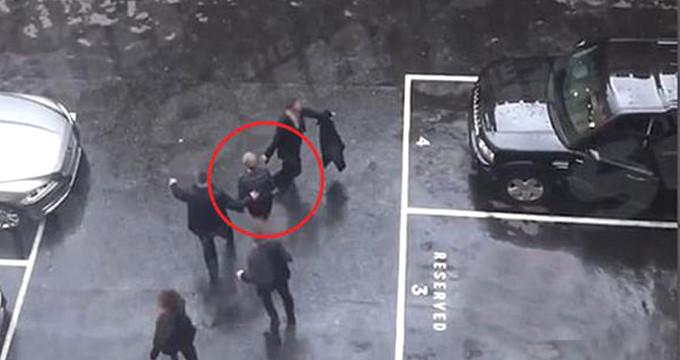 İngiltere Başbakanı'nın kaçış anı! Saldırgan 90 metre uzaklıktaydı