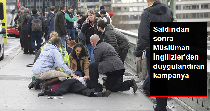 Müslüman İngilizler 1 Saatte 3 Bin Sterlin Bağışladı