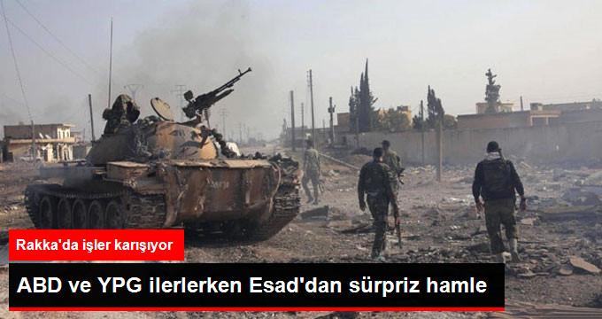 ABD ve YPG ilerlerken Esaddan sürpriz hamle