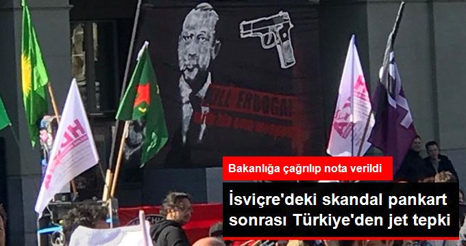 İsviçrenin Ankara Büyükelçi Yardımcısı Dışişlerine Çağrıldı
