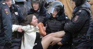 Dünya Rusyadaki bu görüntüleri konuşuyor