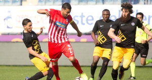 Hamzaoğlu ilk maçında TFF 1. Lig ekibine çarpıldı