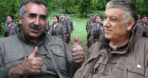 PKKnın elebaşları inlerinde sıkıştı, teröristler dalga geçti