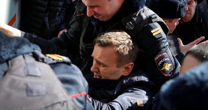 Rus muhalif lider gözaltında!