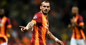 Sneijderden beklenmeyen hareket! Resmen ağız değiştirdi
