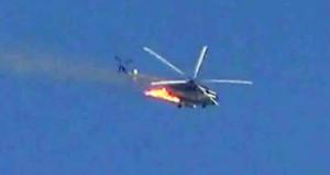 Esada büyük darbe, helikopteri düşürüldü
