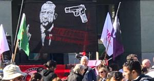 İsviçredeki skandal pankartı üstlenen örgüt belli oldu