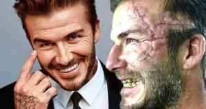 David Beckham tanınmaz halde