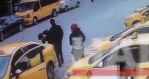 İstanbulda yaşanan taksici rezaletinin görüntüleri ortaya çıktı
